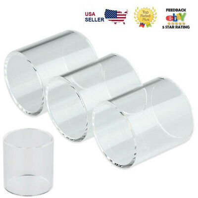 4x Replacement Pyrex Glass Tube For SMOK TFV8/Baby Beast /Big Baby Beast Tank