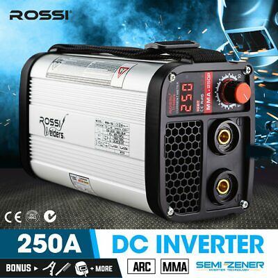 ROSSI Ultra Portable 160A Inverter Welder MMA ARC Stick Welding Machine DC iGBT