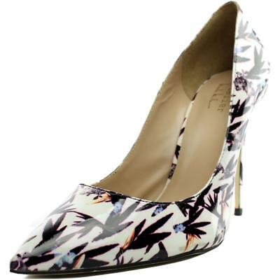 Nicole Miller Maison Women  Pointed Toe Patent Leather  Heels