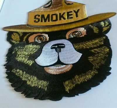 10'' Giant Smokey Bear Official Patch