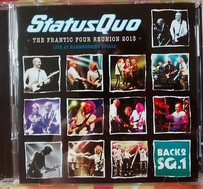 STATUS QUO-The Frantic Four Reunion 2013-2 Cds