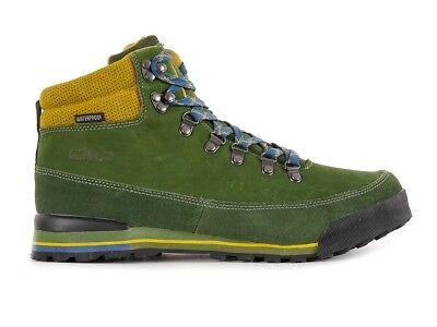 CMP Hiking Shoe Hiking Shoes Heka Green Leather Waterproof Lace-Ups