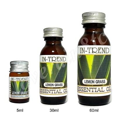 Lemongrass Essential Oil 100% Pure Choice from 5ml to 60ml Free Ship
