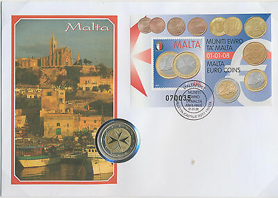 Malta Numismatic Currency Coin 2008