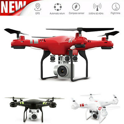 2.4G Altitude Hold Drone HD Camera RC Quadcopter WiFi FPV Live Helicopter Hover