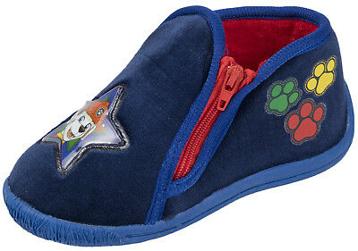 Paw Patrol Slippers Boys Marshall Character Mules Toddlers Booties Shoes Size