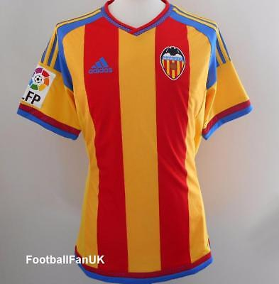 VALENCIA CF Adidas Away Jersey 2015/16 NEW S,M,L Camiseta Shirt 15/16 + Patches