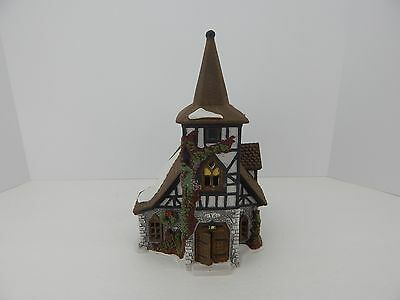 Dept 56 Dickens Village Old Michael Church #55620 Good Condition