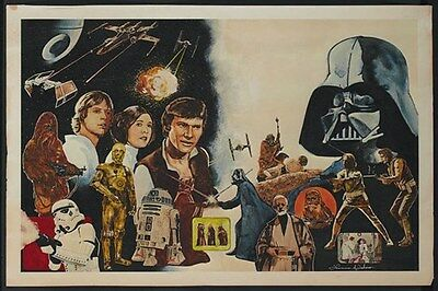 Star Wars (1977) movie poster print  #A18