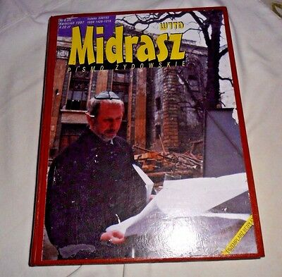 bound copies of Midrasz Pismo Zydowskie 1997 Polish Jewish magazines