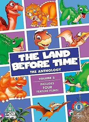 The Land Before Time: The Anthology Volume 2 DVD Film 5, 6, 7 & 8 New R4