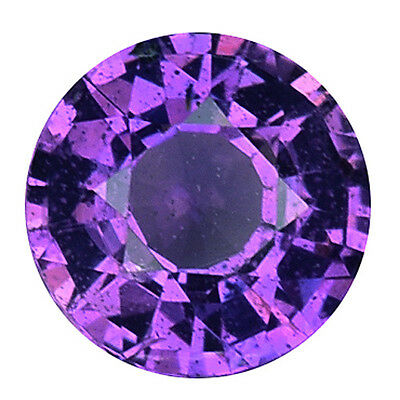 0440 Cts Sublime Top Luser Purple Natural Sapphire Round Loose Gemstones