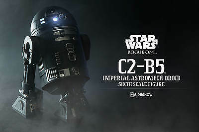 C2-B5 Imperial Astromech Droid - Star Wars Rogue One 1/6th Sideshow HOT TOYS