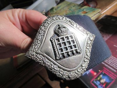 A Vintage Silver Plated Nurses Buckle And Belt For  Westminster Hospital London