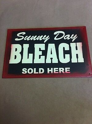 Sunny Day Bleach Metal Sign