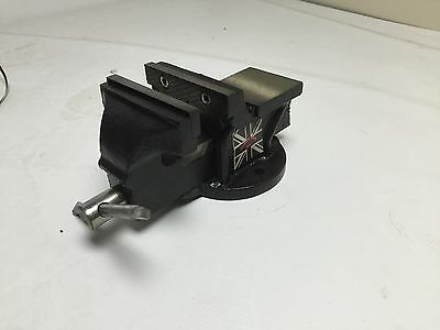 Workshop Vice 4 inch Fixed Bench Vise Jaw Clamp table 100mm