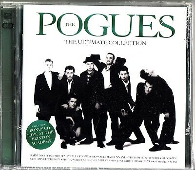 THE POGUES- ULTIMATE COLLECTION/LIVE AT BRIXTON ACADEMY 2-CD NEW Best of/Hits
