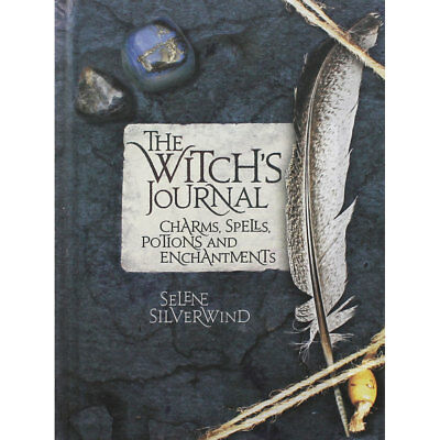 The Witchs Journal by Selene Silverwind (Hardback), Non Fiction Books, Brand New