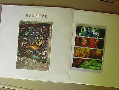 LP Made in Brasilia - ERASURE - THE INNOCENTS - in TOP Zustand