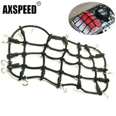 RC Car Roof Rack Cargo Elastic Net w/ Hooks For 1:10 AXIAL SCX10 RC4WD Truck