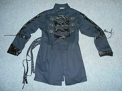 The Pirate Dressing Mens Xl Button Front Costume Top Jacket                   A3