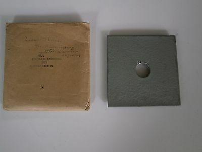Recessed Lens Board (25631) for GRAPHIC VIEW II for Microscope Objective