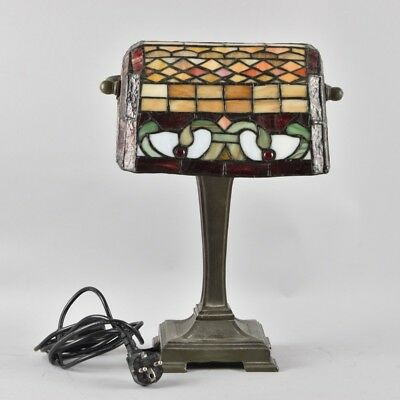 w3m47- Tischlampe/Büro Lampe Stained Glass
