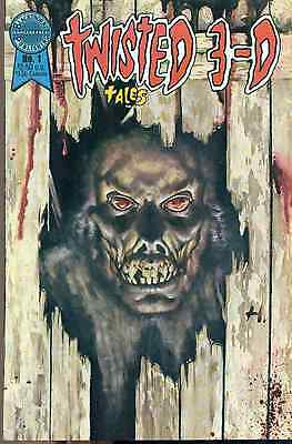 TWISTED TALES 3-D #1 (1986) Blackthorne Comics VG+ (no glasses)