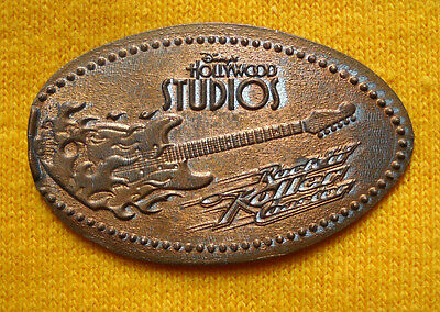 Hollywood Studios elongated penny USA cent Rock'n Roller Coaster souvenir coin