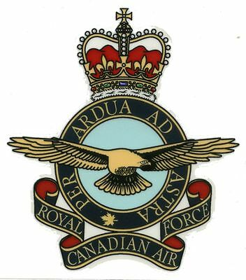 Royal Canadian Air Force - Clear Decal