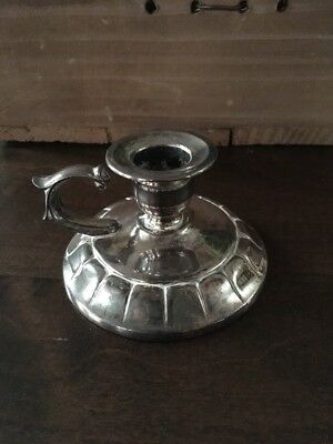 Silver Plated Chamber Stick