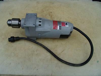 MILWAUKEE MAGNETIC DRILL PRESS MOTOR MODEL #4262-1 11.5 amp  350 rpm WORKS FINE