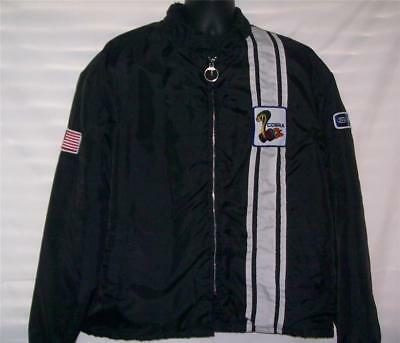 Vintage Black Ford Shelby Cobra Jacket