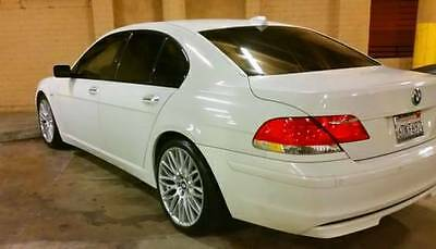 2008 BMW 7-Series  2008 BMW 750i 7 SERIES LOW MILES CLEAN CARFAX TRUSTED SELLER NO RESERVE
