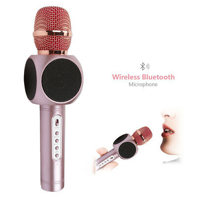 JouerNow Wireless Bluetooth Microphone Handheld for iPhone Android Party Mariage