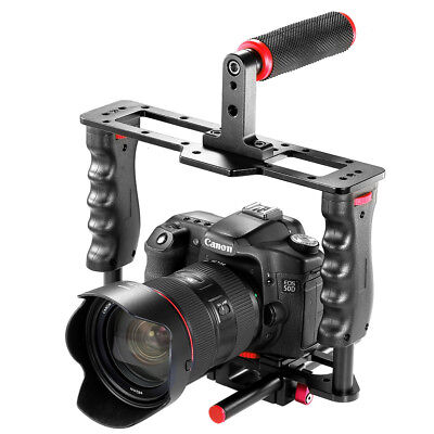 Neewer Film Movie Making Camera Video Cage Kit with Top Handle Grip + Shoe Mount