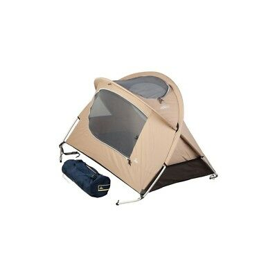 Nomad Kids Travel Bed Baumwolle dark sand - komfortables Kinderreisebett
