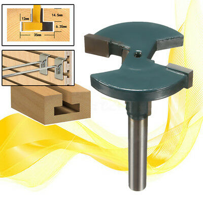 """1/4"""" Shank T-Track T-Slot Straight Router Bits For Woodworking Cutter Tool"""