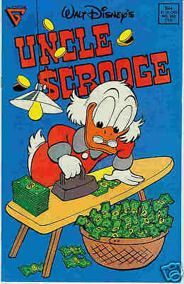 Uncle Scrooge # 233 (Barks) (USA, 1989)