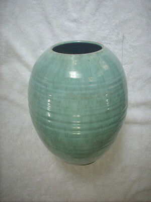 Large Vase With Regal Mashman Glaze Colours