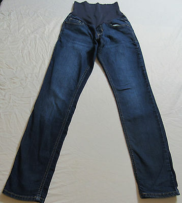 Old Navy Skinny Smooth Panel Stretch Maternity Blue Jeans Size 4 : 7755
