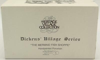 Department 56 Dept The Mermaid Fish Shoppe Dickens Heritage Village Series 59269