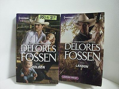 2 Harlequin Intrigue romances by Delores Fossen(The Lawmen of Silver Creek Ranch
