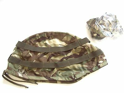 Current Issue MTP Multicam Camo Cover for Army Mk7 Helmet - Size SMALL /  MEDIUM