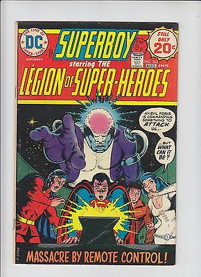 DC Comics Superboy and the Legion of Superheroes Comic No 203 - August 1974
