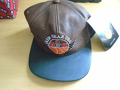 Air Gear Usa Cap Brand New With Tags Adjustable Brown & Black