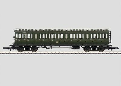 87563 Marklin Z-scale early era DB Passenger Compartment 4 axle Car 2nd class