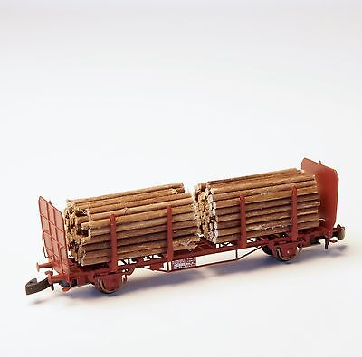 FR Z-scale 46.817 Swedish  Timber Car class Lp of the SJ Sweden