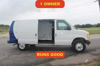2004 Ford E-Series Van Commercial 2004 Commercial Used 4.6L V8 16V Automatic Sears Service Tech Work van runs good