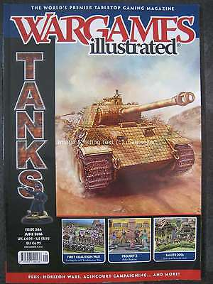Wargames Illustrated 344 June 2016 Tanks Project Z First Coalition War Salute